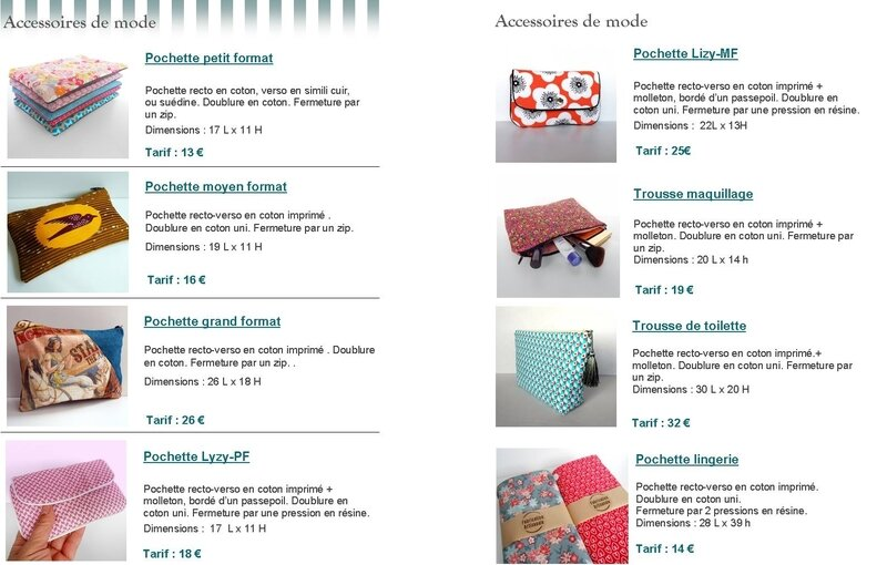 Catalogue Clocréations page 4-5