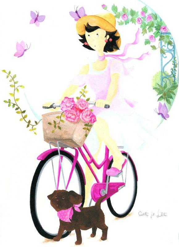 p- à bicyclette