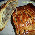 Feuilletés à la viande et à l'artichaut