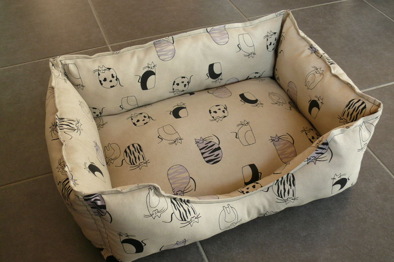 patron couture coussin chat