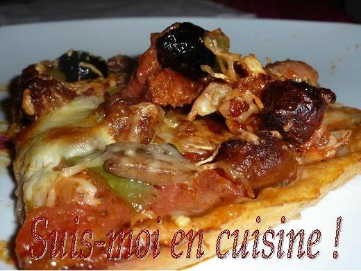 Pizzas Chorizo Merguez Poivron 18