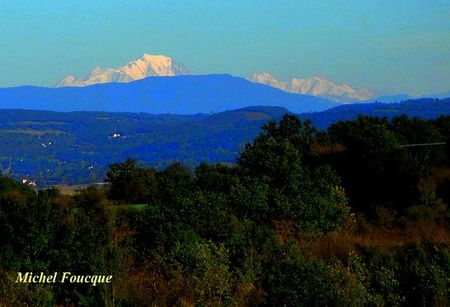 2) balade vélo,vue sur les Alpes