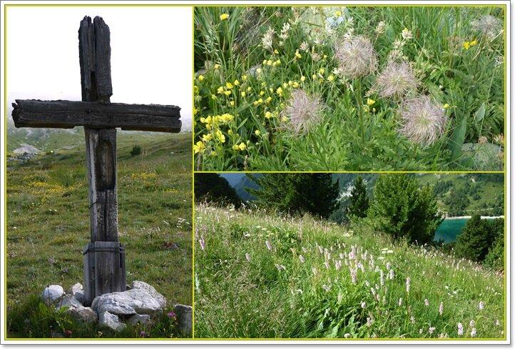 05 la croix et les fleurs