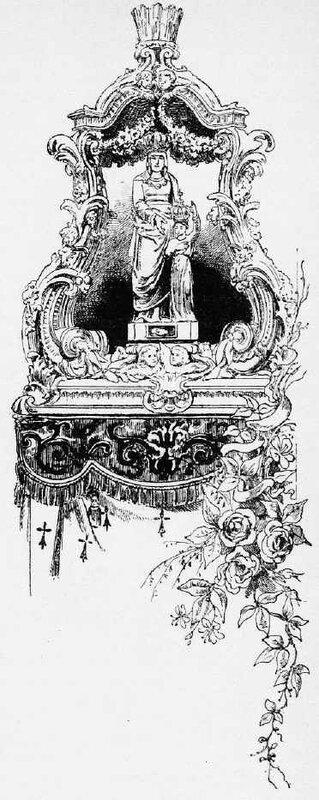 St Anne Arche de la statue