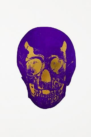 Damien Hirst, The Dead Gunmental Prairie Copper Skull , 2009