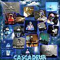 Un de mes digiscraps de Cascadeur, sa musique m'inspire !