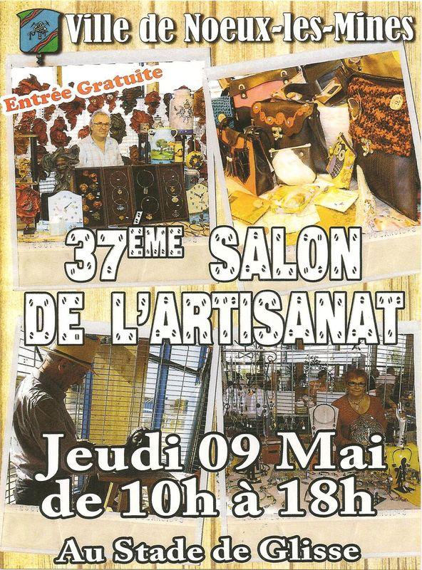 37 me salon de l 39 artisanat noeux les mines 62 9 mai for Salon de l artisanat valence