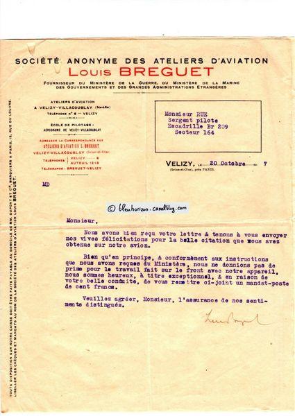 lettre Breguet