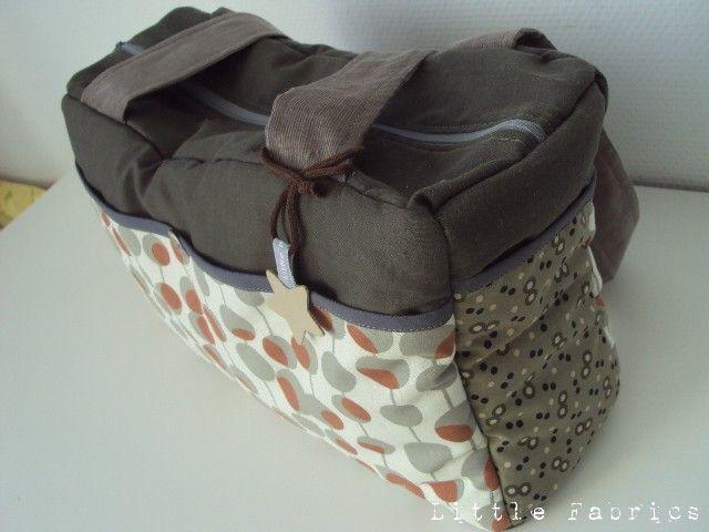 le sac langer little fabrics. Black Bedroom Furniture Sets. Home Design Ideas