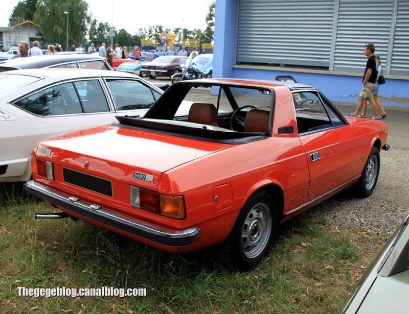 Lancia beta spider 1600 (Retrorencard aout 2013) 02