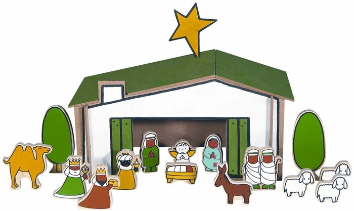 28 Crèche nativity Miffy Dick Bruna