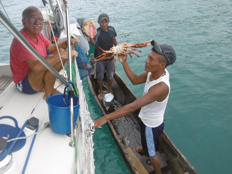 Cayo Chichimé - pécheurs de crabes (1)