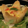 Mini Souffls aux Lgumes en Feuilles de Phyllo