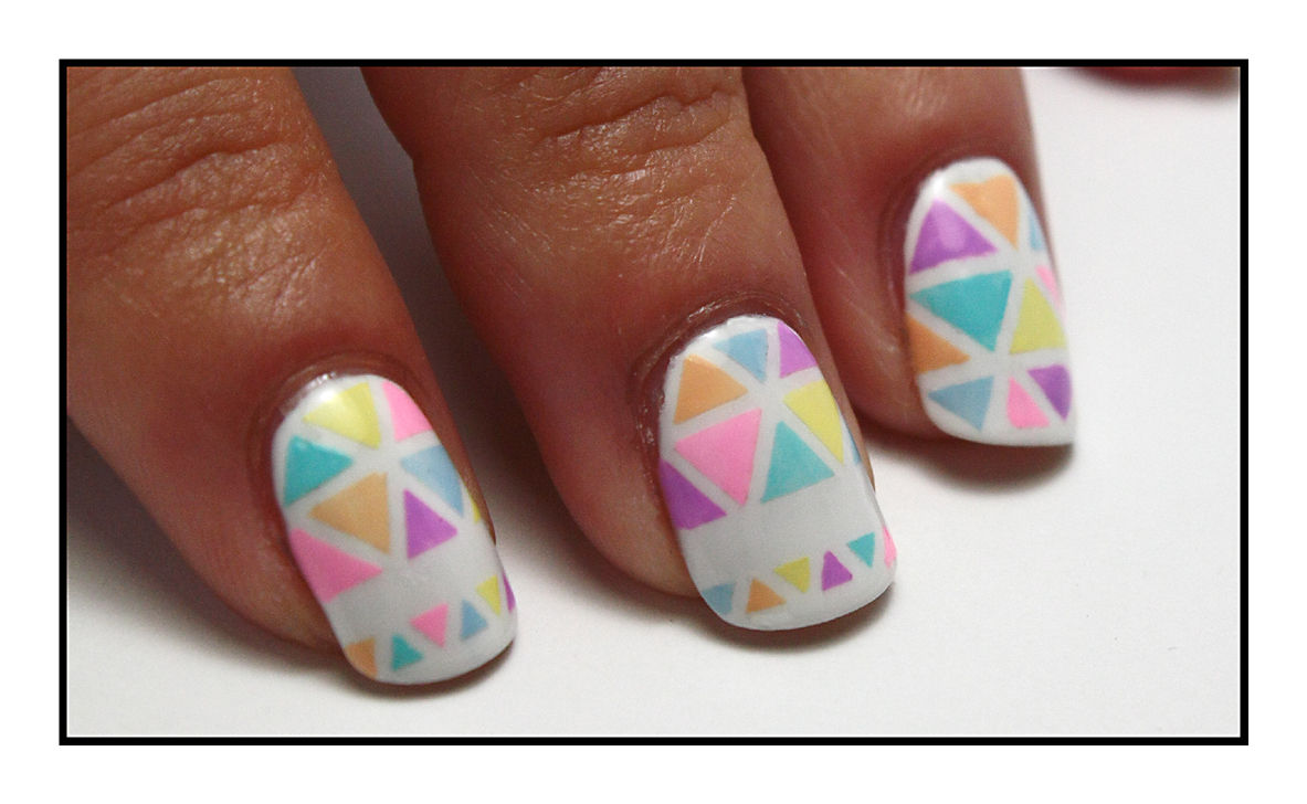 The Sunday Nail Battle #19 - Mosaïc Nails