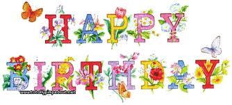 happy birthday fleurs