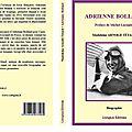 Nouvel ouvrage - biographie d'adrienne bolland la grande aviatrice du début du 20ème siècle