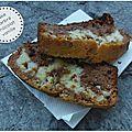 Cake marbré chocolat/vanille