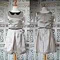 robe à pois vintage