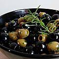 ...olives marinées à la provençale...
