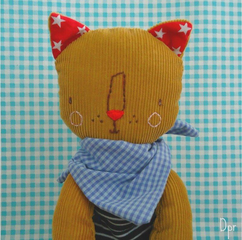 la chat velours 1