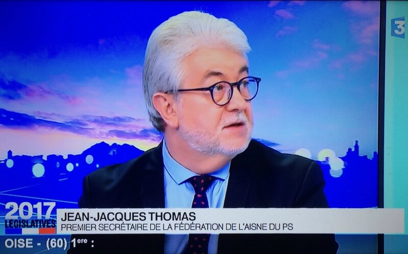 LÉGISLATIVES 2017 JJT FRANCE 3 seul