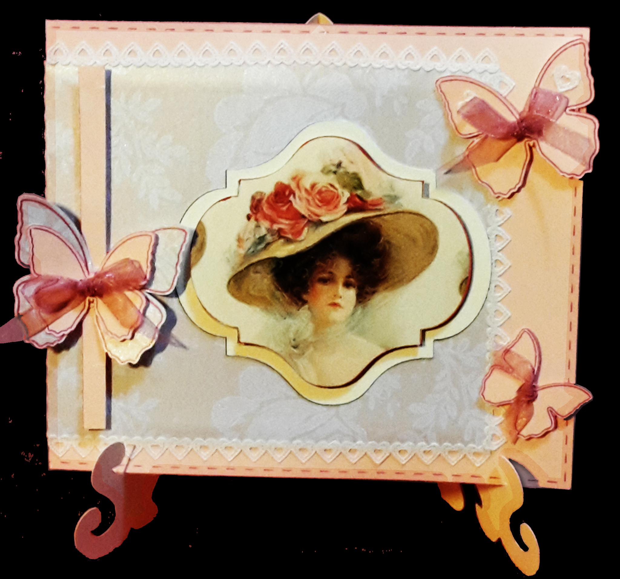 Une carte aux papillons pour Winnie
