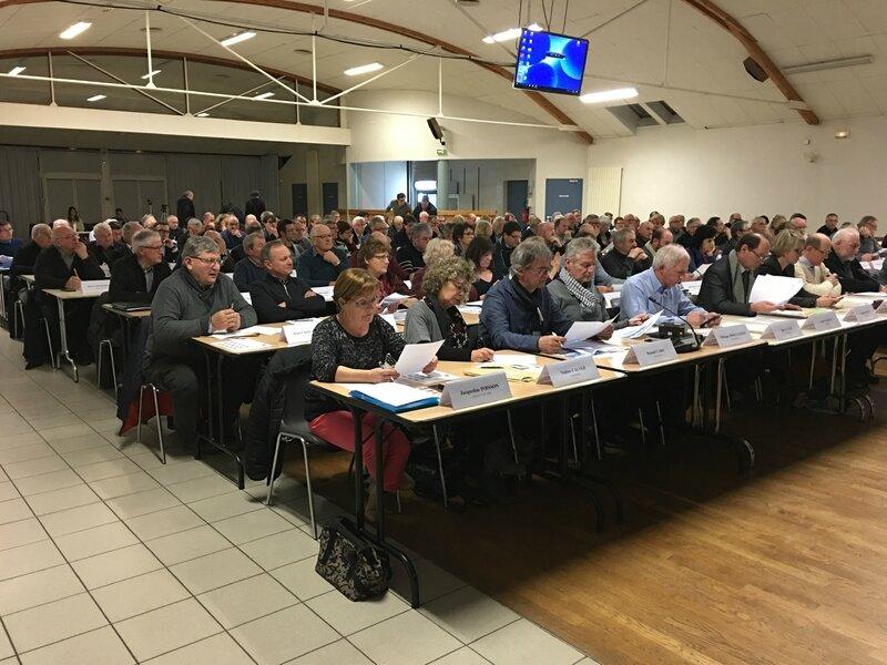 conseil de communauté d'agglomération Mont-Saint-Michel Normandie Isigny-le-Buat 30_01_2017 conseil délégués