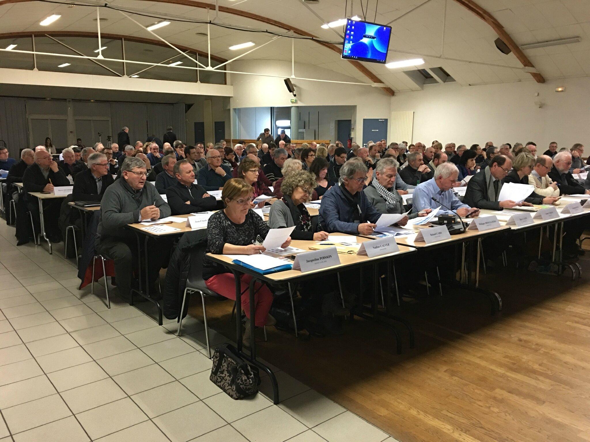 conseil de Communauté d'agglomération Mont-Saint-Michel - Normandie • Isigny-le-Buat • mercredi 29 mars 2017 - l'ordre du jour