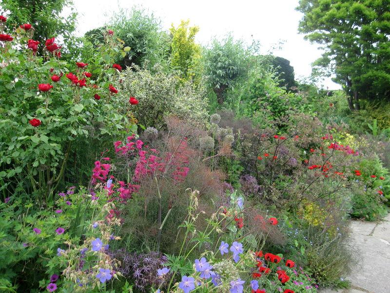 Angleterre les jardins de great dixter dans le sussex for Jardin anglais en angleterre