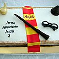 Gâteau harry potter - concours halwatishop