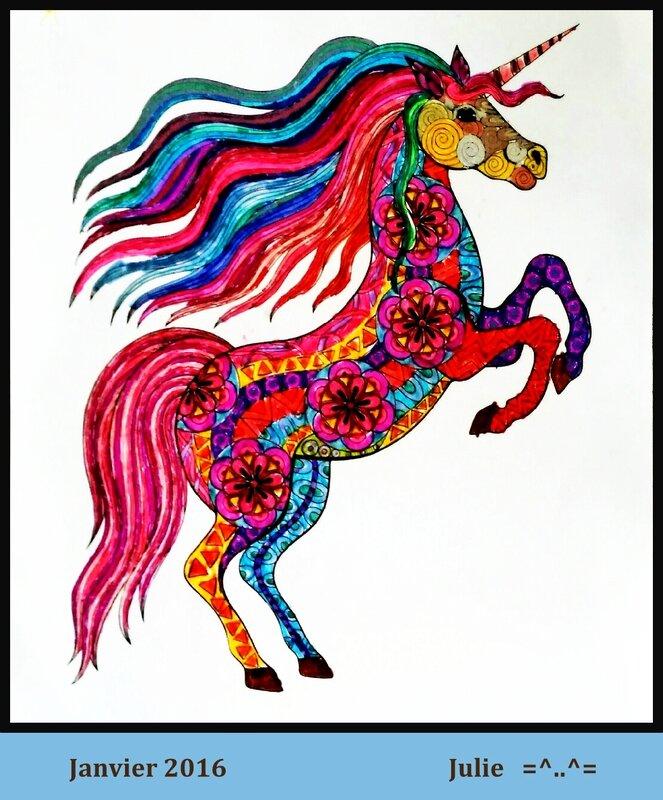 16 01 Coloriage Julie