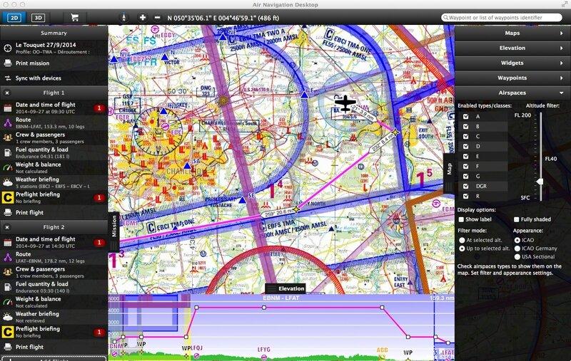 AirNav Desktop