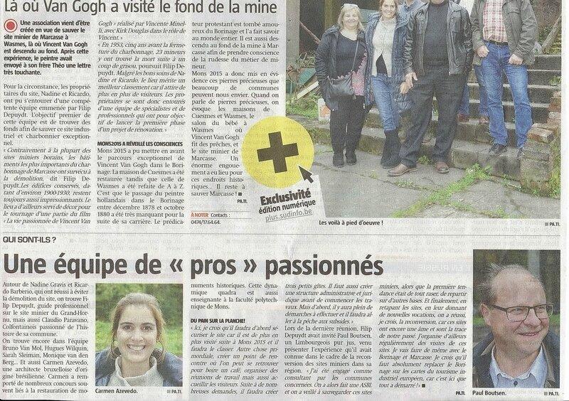 La Province - Suvons Marcasse 2 - 2015-11-03