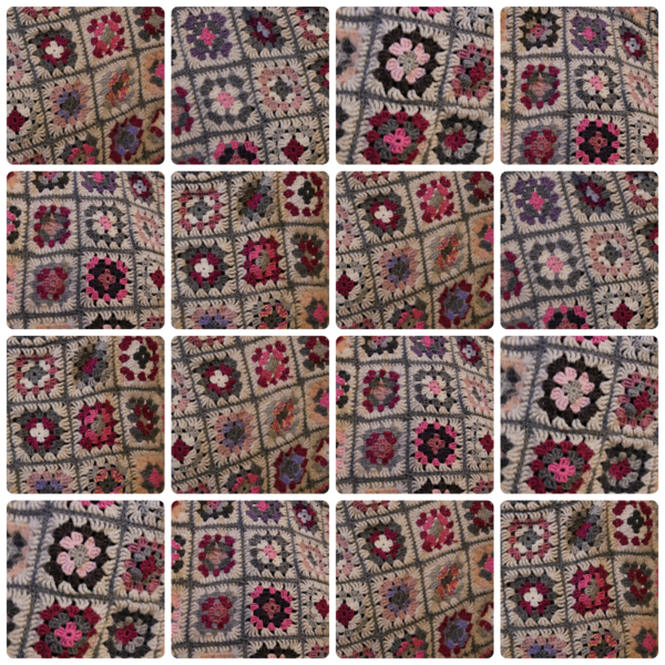 Collage super plaid
