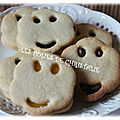 Biscuits smiley's