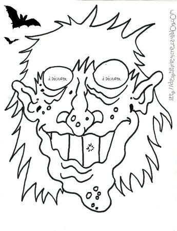 masque sorcier