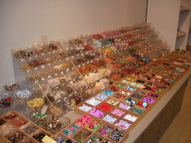 vendeur de perles
