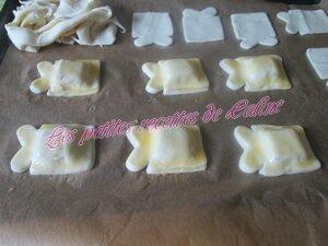 Bouchées feuilletées à la pâte de fruits12
