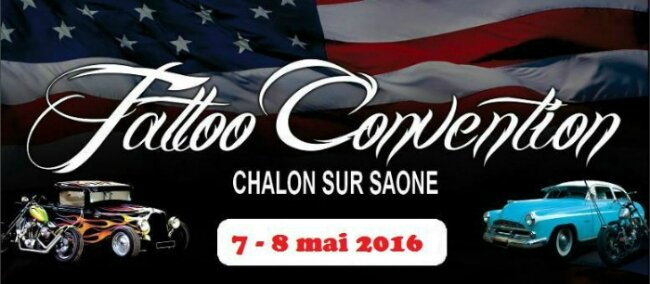 Convention tattoo chalon sur saone 07 08 mai 2016 - O bar chalon sur saone ...