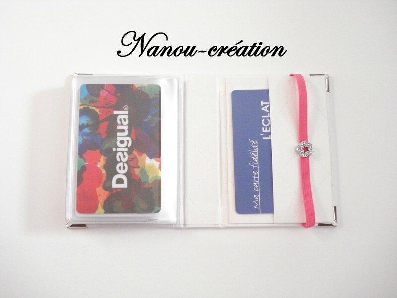 Boite bobines et porte cartes de fid lit en cartonnage for Porte carte de fidelite