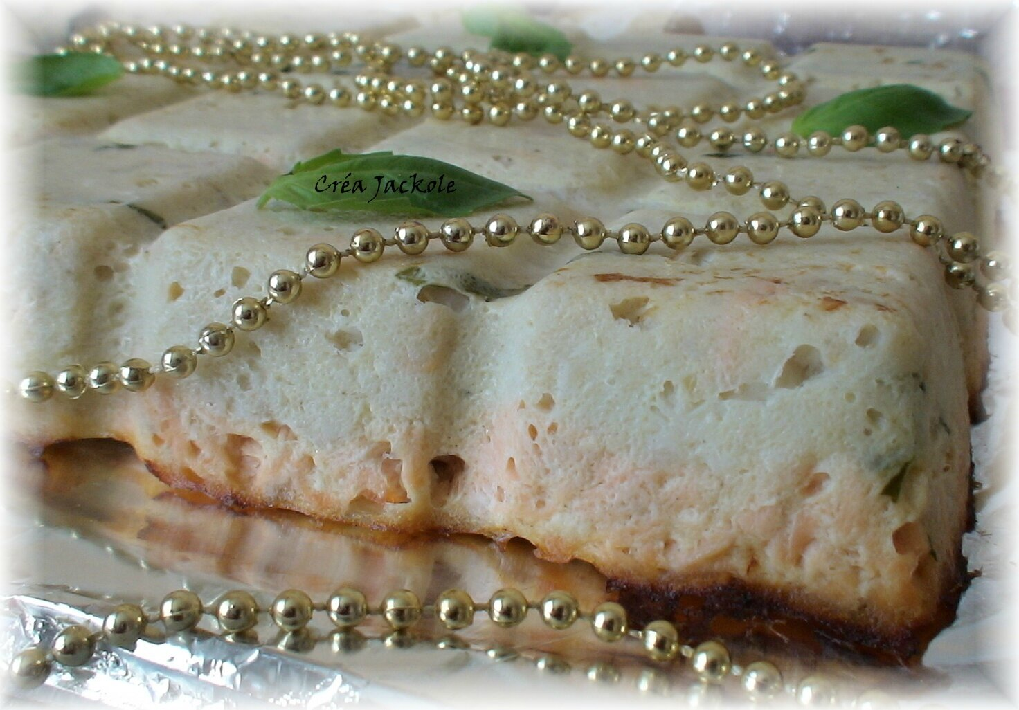 Terrine de la mer au basilic blogs de cuisine for Entrees faciles a realiser