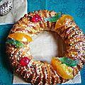 Il buccellato, gâteau typique de noël