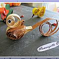 Quilling poussin20
