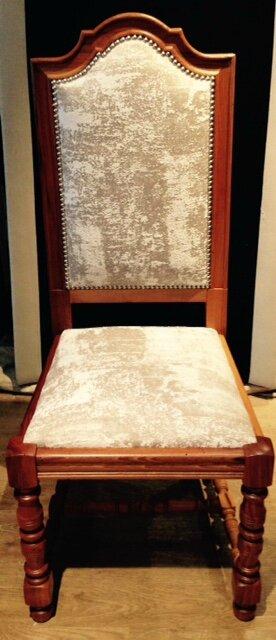 chaises louis xiii relook es tendance chic tapissier cr ateur. Black Bedroom Furniture Sets. Home Design Ideas