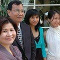 Papa, Mama, la petite soeur et la mariée