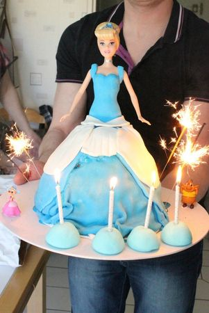 gateau cendrillon