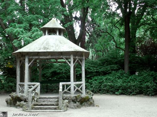 Le pittoresque kiosque musique photo de jardin des for Jardin pittoresque
