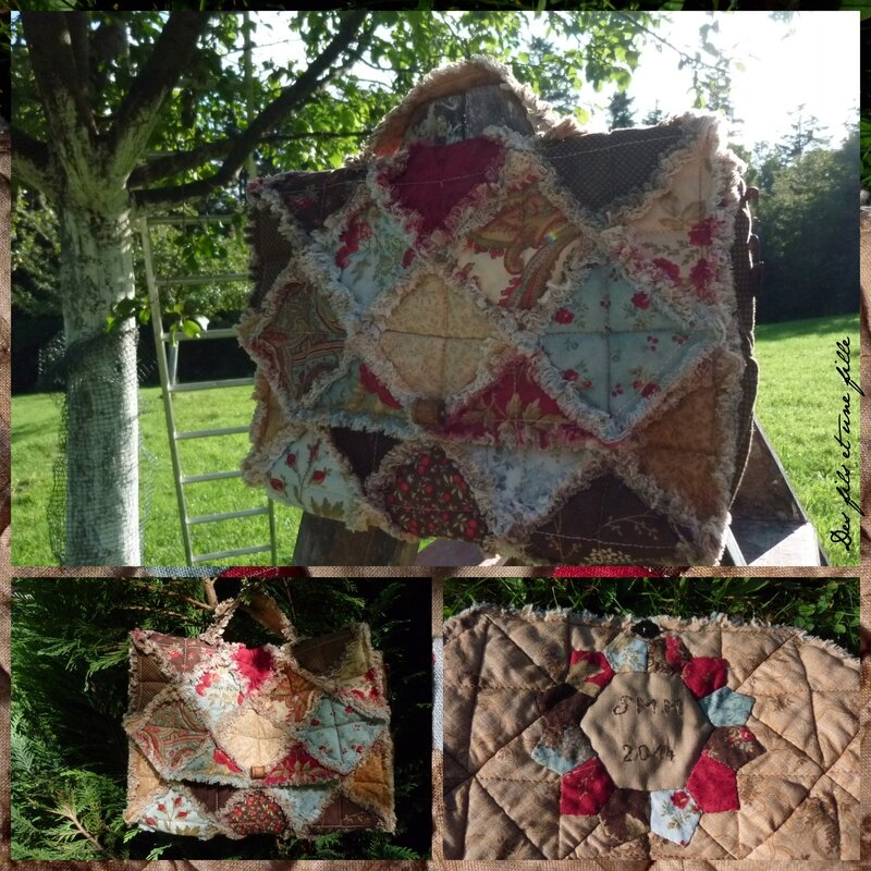 cartable rag quilt