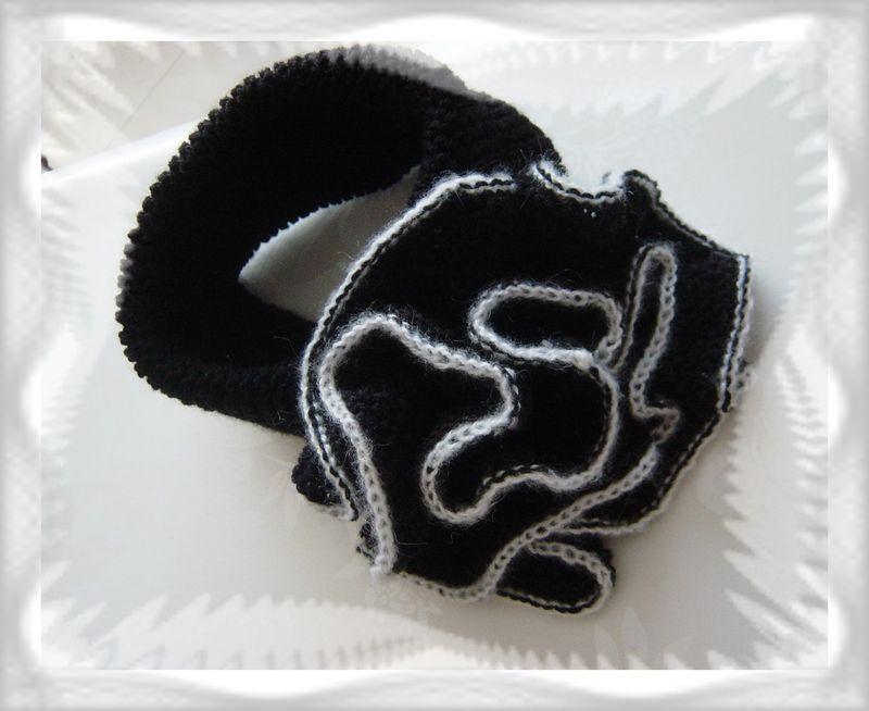 écharpe noire 1