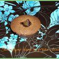 Petits fondants au chocolat coeur à l'orange